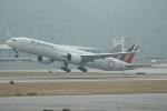 だいすけさんが、香港国際空港で撮影したフィリピン航空 777-36N/ERの航空フォト(飛行機 写真・画像)