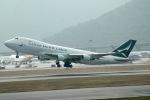 だいすけさんが、香港国際空港で撮影したキャセイパシフィック航空 747-467F/ER/SCDの航空フォト(飛行機 写真・画像)