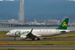 ゆーすきんさんが、関西国際空港で撮影した春秋航空 A320-214の航空フォト(飛行機 写真・画像)