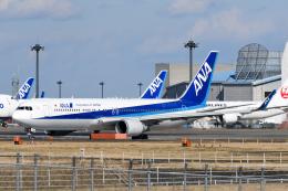 panchiさんが、成田国際空港で撮影した全日空 767-381/ERの航空フォト(飛行機 写真・画像)