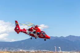 pcmediaさんが、富士川滑空場で撮影した浜松市消防航空隊 AS365N3 Dauphin 2の航空フォト(飛行機 写真・画像)