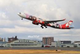 kan787allさんが、福岡空港で撮影したエアアジア・エックス A330-343Xの航空フォト(飛行機 写真・画像)