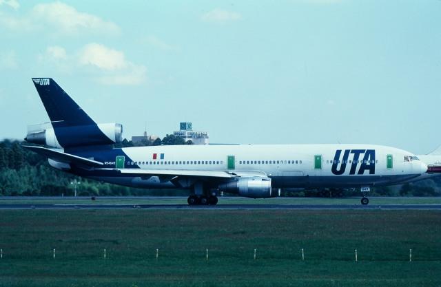 サンドバンクさんが、成田国際空港で撮影したUTA DC-10-30の航空フォト(飛行機 写真・画像)