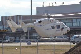 ヨッちゃんさんが、茨城空港で撮影したディーエイチシー BK117B-2の航空フォト(飛行機 写真・画像)