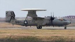 撮り撮り人さんが、岩国空港で撮影したアメリカ海軍 E-2D Advanced Hawkeyeの航空フォト(飛行機 写真・画像)
