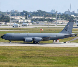 nontan8さんが、嘉手納飛行場で撮影したアメリカ空軍 KC-135T Stratotanker (717-148)の航空フォト(飛行機 写真・画像)