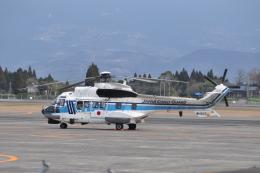 M.Ochiaiさんが、鹿児島空港で撮影した海上保安庁 AS332L1 Super Pumaの航空フォト(飛行機 写真・画像)