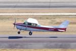 yabyanさんが、名古屋飛行場で撮影した富士航空 172P Skyhawkの航空フォト(飛行機 写真・画像)