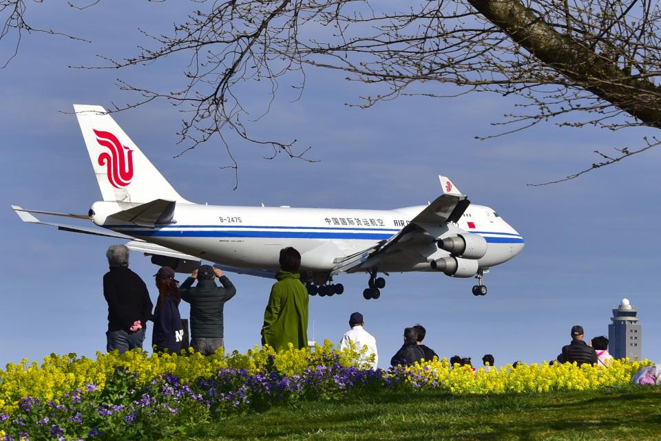 パンダさんの中国国際貨運航空 Boeing 747-400 (B-2475) 航空フォト