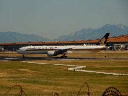 kiyohsさんが、北京首都国際空港で撮影したシンガポール航空 777-312/ERの航空フォト(飛行機 写真・画像)