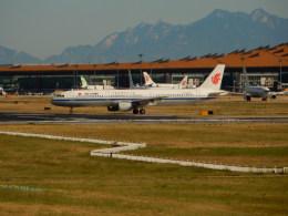 kiyohsさんが、北京首都国際空港で撮影した中国国際航空 A321-213の航空フォト(飛行機 写真・画像)