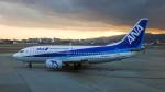 Bluewingさんが、伊丹空港で撮影したANAウイングス 737-54Kの航空フォト(飛行機 写真・画像)