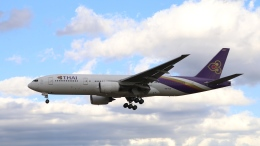 raichanさんが、成田国際空港で撮影したタイ国際航空 777-2D7/ERの航空フォト(飛行機 写真・画像)