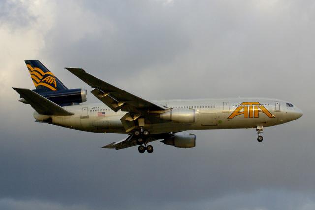 SGHGさんが、福岡空港で撮影したATA航空 DC-10-30の航空フォト(飛行機 写真・画像)