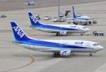 キイロイトリさんが、中部国際空港で撮影したANAウイングス 737-5L9の航空フォト(飛行機 写真・画像)