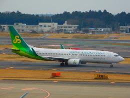 けいほんさんが、成田国際空港で撮影した春秋航空日本 737-8ALの航空フォト(飛行機 写真・画像)