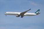 OMAさんが、シンガポール・チャンギ国際空港で撮影したキャセイパシフィック航空 A350-1041の航空フォト(飛行機 写真・画像)