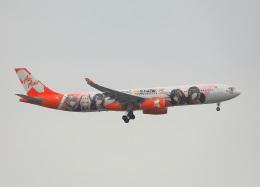 garrettさんが、台湾桃園国際空港で撮影したエアアジア・エックス A330-343Xの航空フォト(飛行機 写真・画像)