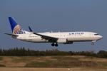 やつはしさんが、成田国際空港で撮影したユナイテッド航空 737-824の航空フォト(飛行機 写真・画像)