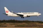 やつはしさんが、成田国際空港で撮影した日本航空 737-846の航空フォト(飛行機 写真・画像)