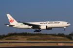 やつはしさんが、成田国際空港で撮影した日本航空 777-246/ERの航空フォト(飛行機 写真・画像)