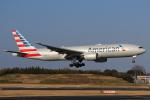やつはしさんが、成田国際空港で撮影したアメリカン航空 777-223/ERの航空フォト(飛行機 写真・画像)