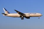 やつはしさんが、成田国際空港で撮影したユナイテッド航空 777-222/ERの航空フォト(飛行機 写真・画像)