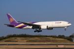 やつはしさんが、成田国際空港で撮影したタイ国際航空 777-2D7/ERの航空フォト(飛行機 写真・画像)