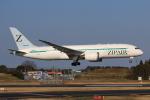 やつはしさんが、成田国際空港で撮影したZIPAIR 787-8 Dreamlinerの航空フォト(飛行機 写真・画像)
