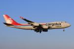 やつはしさんが、成田国際空港で撮影したカーゴルクス・イタリア 747-4R7F/SCDの航空フォト(飛行機 写真・画像)