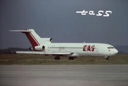 tassさんが、パリ オルリー空港で撮影したEAS ヨーロッパ エアラインズ 727-2H3/Advの航空フォト(飛行機 写真・画像)