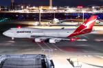 契丹さんが、羽田空港で撮影したカンタス航空 747-438/ERの航空フォト(飛行機 写真・画像)