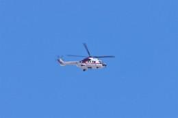 mild lifeさんが、八尾空港で撮影した朝日航洋 AS332L1 Super Pumaの航空フォト(飛行機 写真・画像)