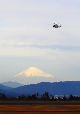 タミーさんが、静岡空港で撮影した中日本バンリース AW109SP GrandNewの航空フォト(飛行機 写真・画像)