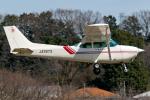 Tomo-Papaさんが、調布飛行場で撮影した東京航空 172P Skyhawkの航空フォト(飛行機 写真・画像)