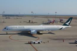さんろくさんが、中部国際空港で撮影したキャセイパシフィック航空 A350-1041の航空フォト(飛行機 写真・画像)