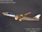 masarunphotosさんが、香港国際空港で撮影したアトラス航空 747-87UF/SCDの航空フォト(飛行機 写真・画像)