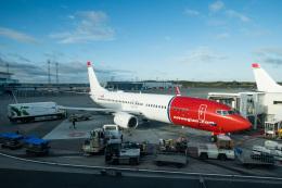 delawakaさんが、ストックホルム・アーランダ空港で撮影したノルウェー・エアシャトル 737-8JPの航空フォト(飛行機 写真・画像)