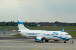 delawakaさんが、ワルシャワ・フレデリック・ショパン空港で撮影したエンターエア 737-8ASの航空フォト(飛行機 写真・画像)