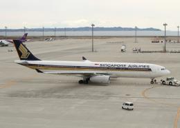 銀苺さんが、中部国際空港で撮影したシンガポール航空 A330-343Xの航空フォト(飛行機 写真・画像)