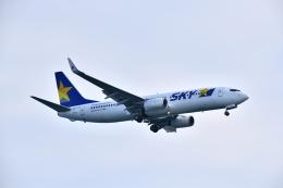 KAGURA-747さんが、羽田空港で撮影したスカイマーク 737-8FZの航空フォト(飛行機 写真・画像)