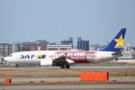Yuseiさんが、福岡空港で撮影したスカイマーク 737-8ALの航空フォト(飛行機 写真・画像)