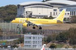 Yuseiさんが、福岡空港で撮影したフジドリームエアラインズ ERJ-170-200 (ERJ-175STD)の航空フォト(飛行機 写真・画像)