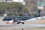 Yuseiさんが、福岡空港で撮影したスターフライヤー A320-214の航空フォト(飛行機 写真・画像)