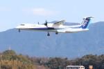 Yuseiさんが、福岡空港で撮影したANAウイングス DHC-8-402Q Dash 8の航空フォト(飛行機 写真・画像)