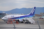 でこっぱち 15さんが、福岡空港で撮影したANAウイングス 737-54Kの航空フォト(飛行機 写真・画像)