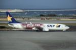 kumagorouさんが、那覇空港で撮影したスカイマーク 737-8ALの航空フォト(飛行機 写真・画像)