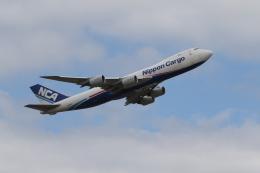 ベリックさんが、成田国際空港で撮影した日本貨物航空 747-8KZF/SCDの航空フォト(飛行機 写真・画像)