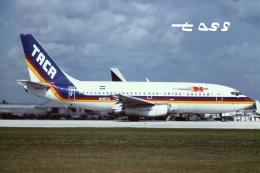 tassさんが、マイアミ国際空港で撮影したTACA航空 737-222の航空フォト(飛行機 写真・画像)