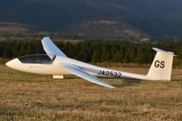 とびたさんが、久住滑空場で撮影した日本個人所有 Discus bの航空フォト(飛行機 写真・画像)